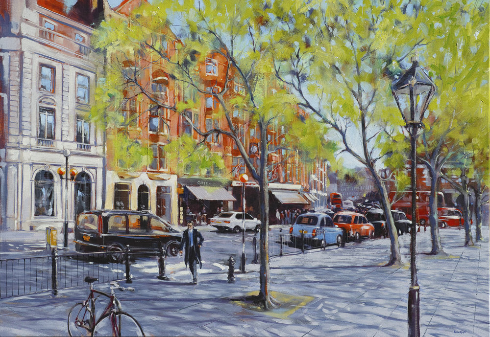 Spring in Sloane Square - sold