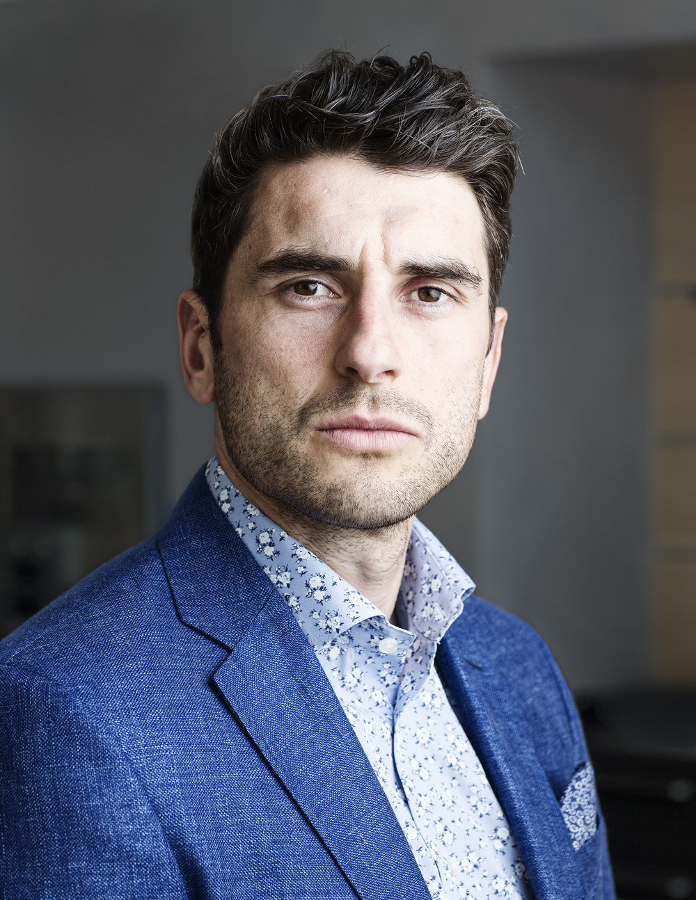 Bernard  Brogan for Weekend Magazine