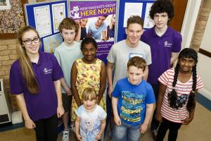 Durham Students and Mentors at MagiKats March 2016