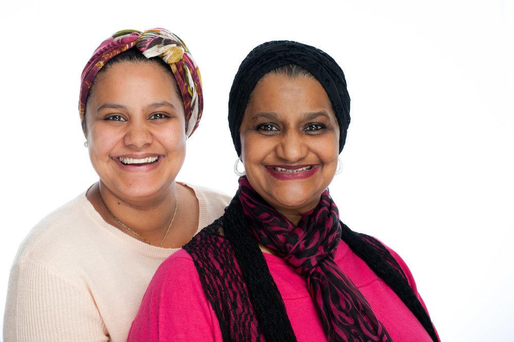 Shariefa and Sarah