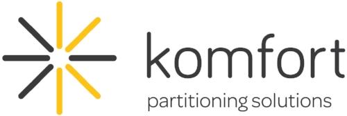 Komfort Partitioning logo