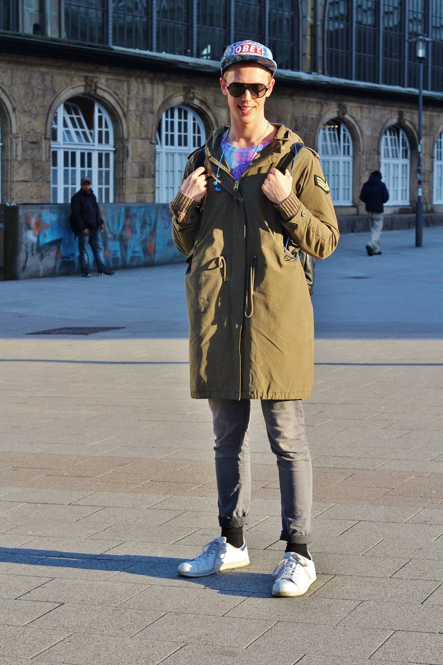 Urban Men Style - Military & Colorful