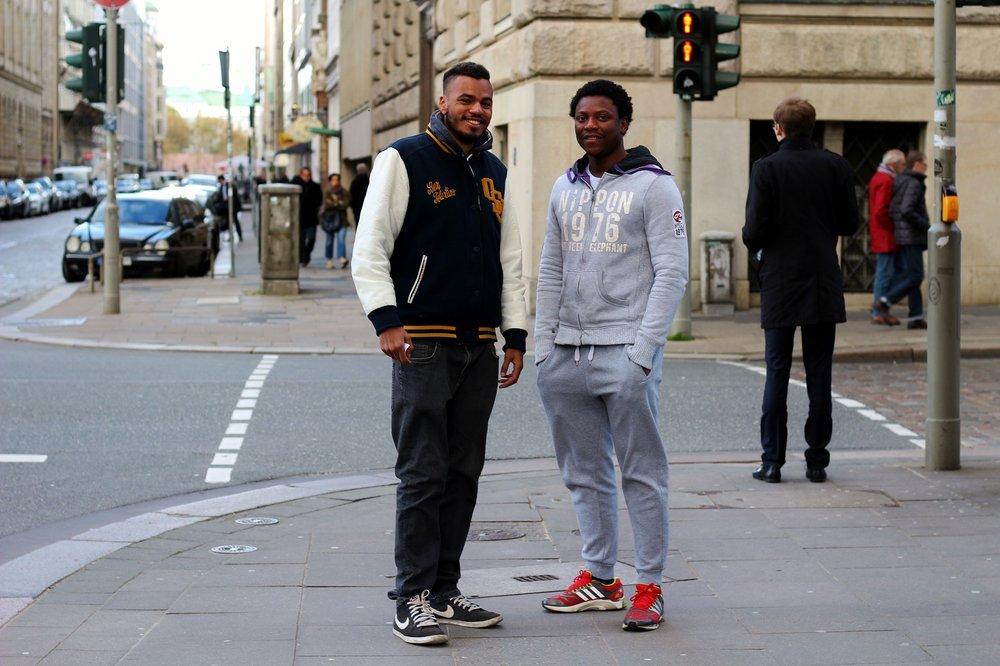 Men Street Style - College Jacke