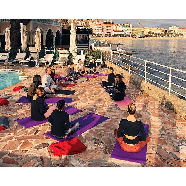4 jours de rêve à l'hôtel les mouettes pour notre première retraite detox ✨🧘🏼♀️🍃 #yogaretreat#sejourdetox#retraiteencorse#detox#yoga