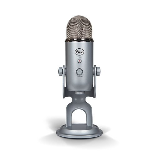 The Blue Yeti - A favorite for many podcasters.
