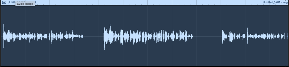 Making your podcast sound better - audio in GarageBand with no processing.