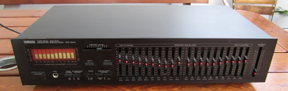 You don't see many podcaster with an analog EQ like this anymore. Now, powerful EQ is built into most software.