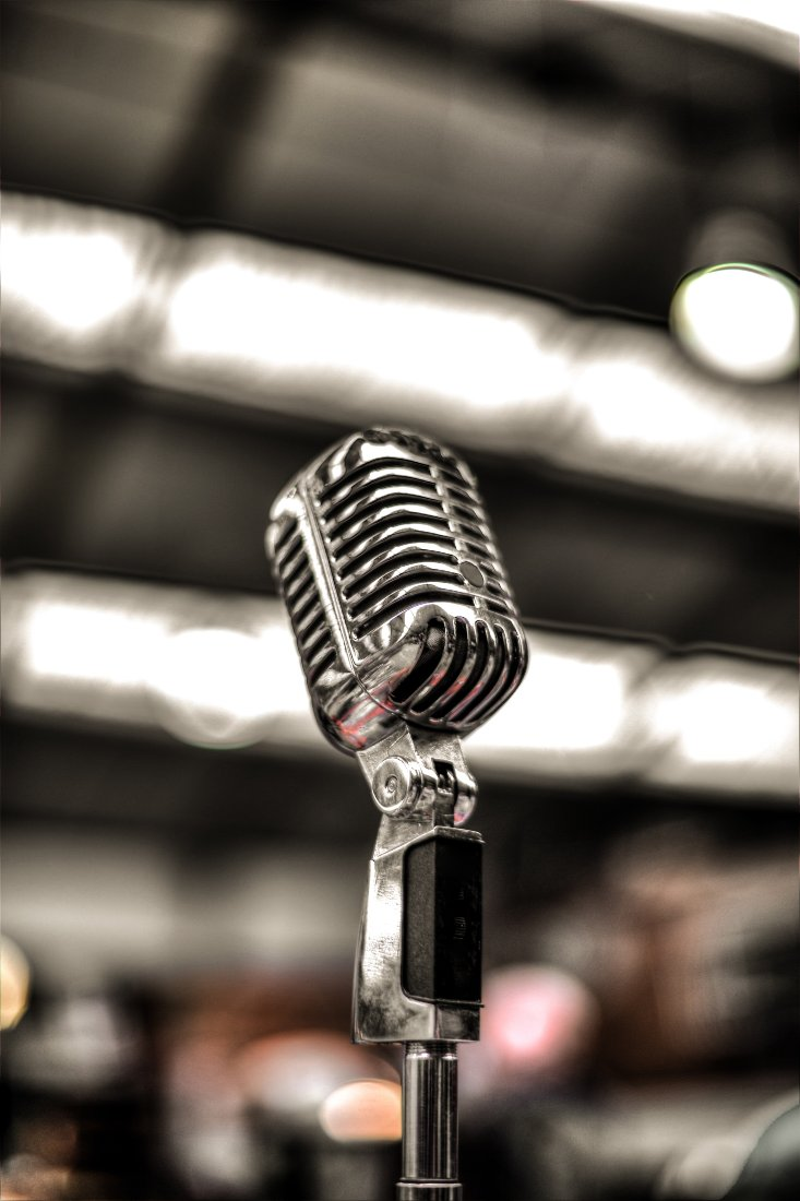 Proper mic position can help you sound better on your podcast.