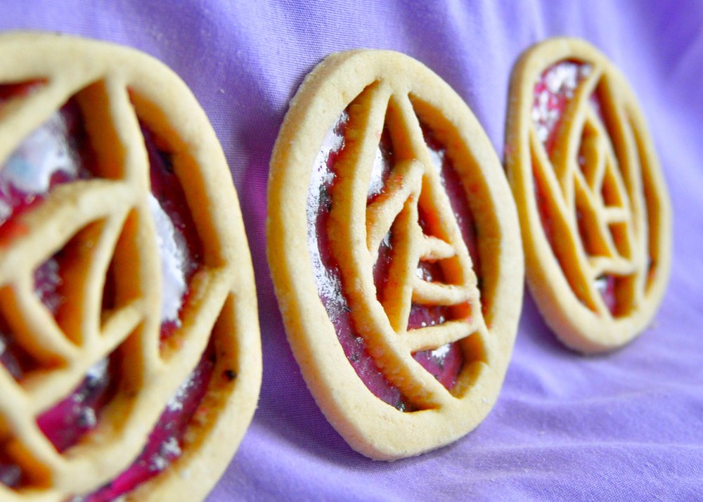 How To Make Art Deco Stained Glass Cookies