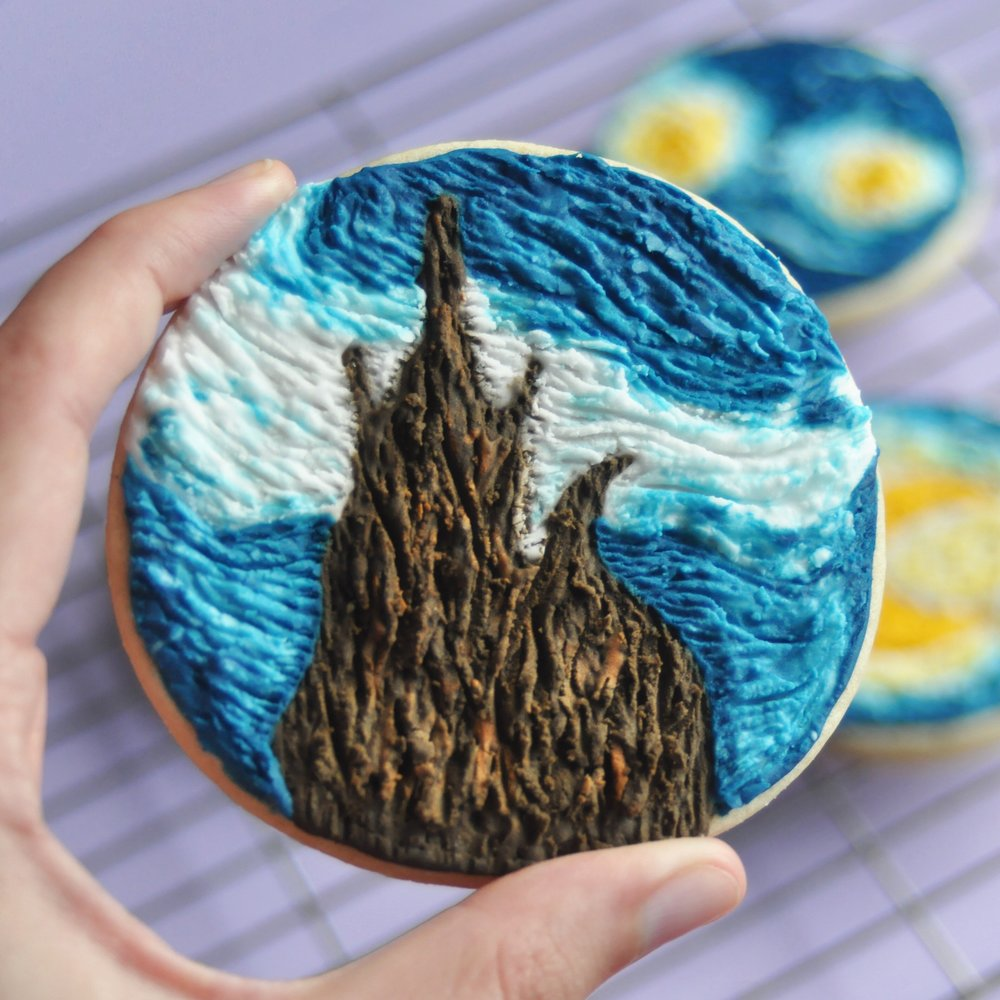 How To Make Van Gogh Inspired Cookies