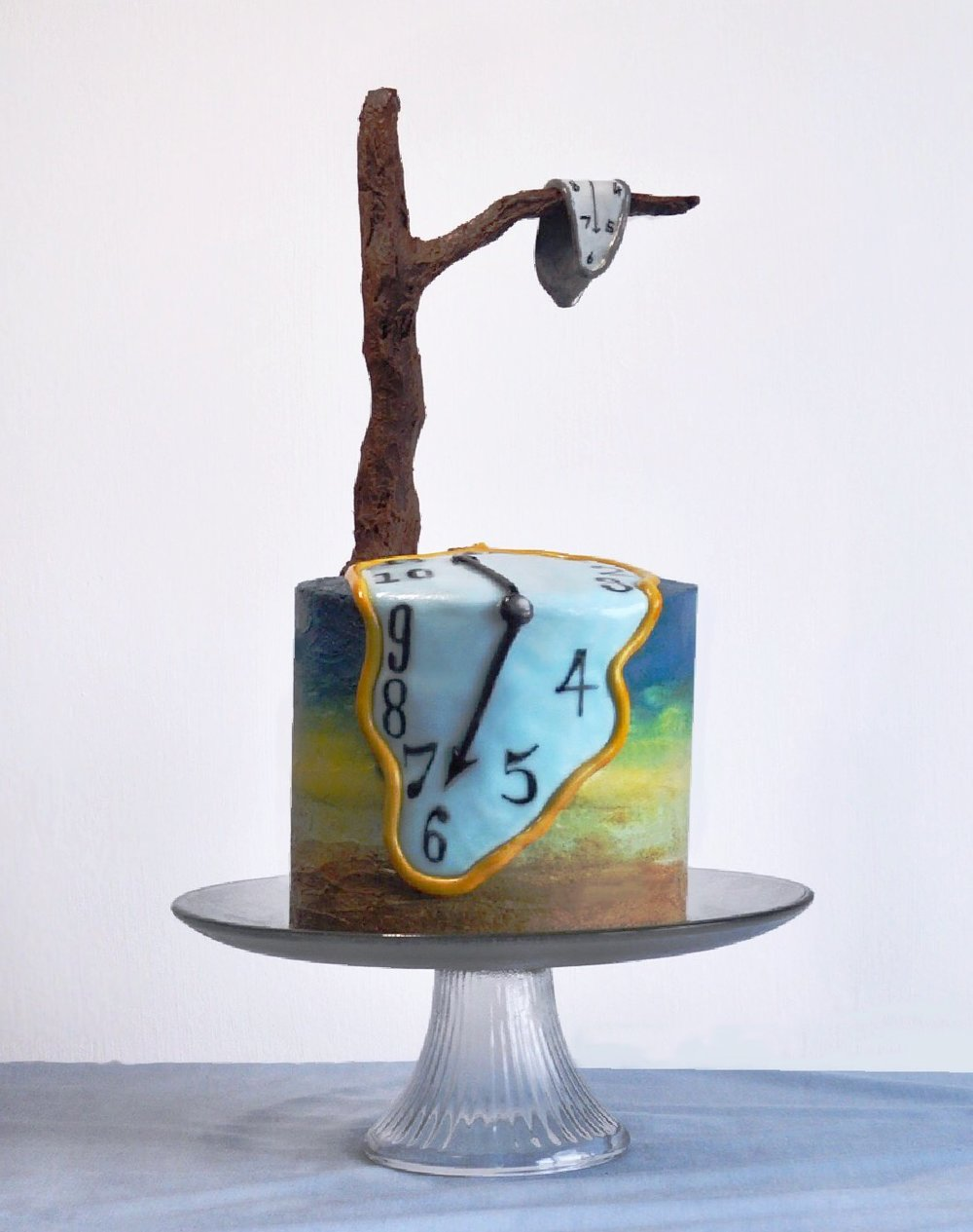 How To Make A Dali Inspired Decorated Cake
