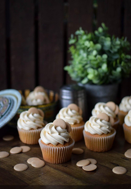 Katie Cakes Caramac Cupcakes