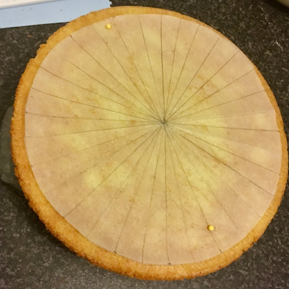 How To Make A Giant Jammie Dodger Cake