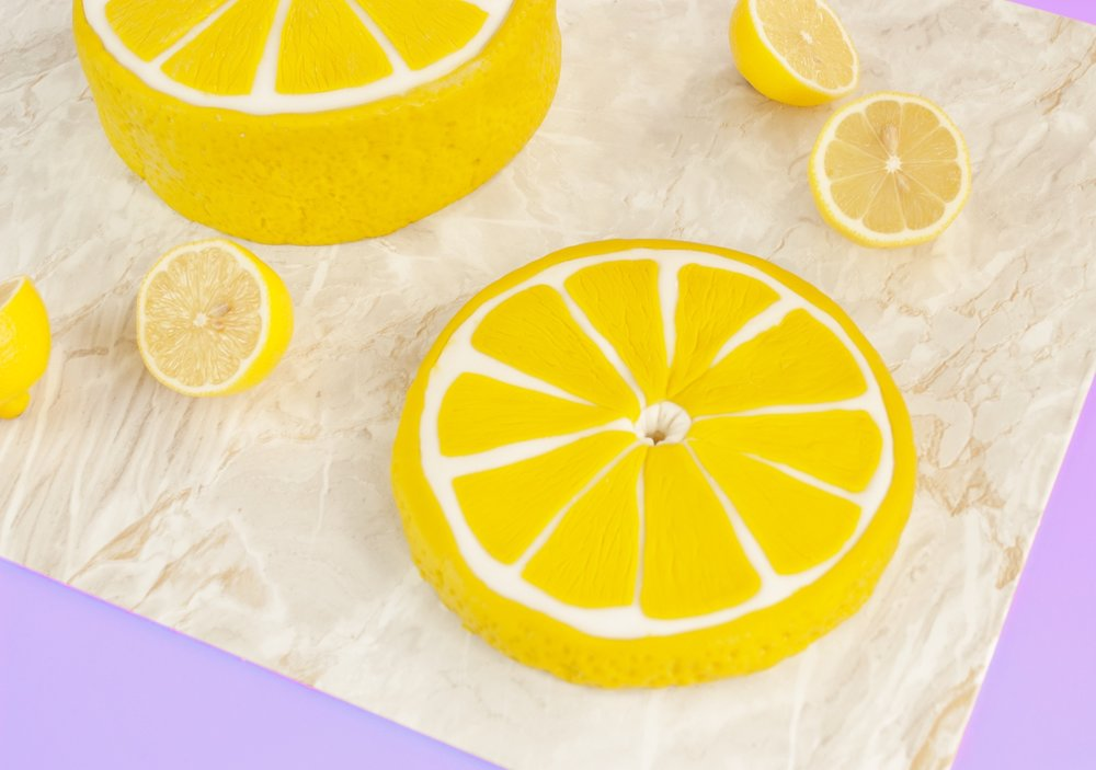 Cute AF Lemon Slice Cake Tutorial