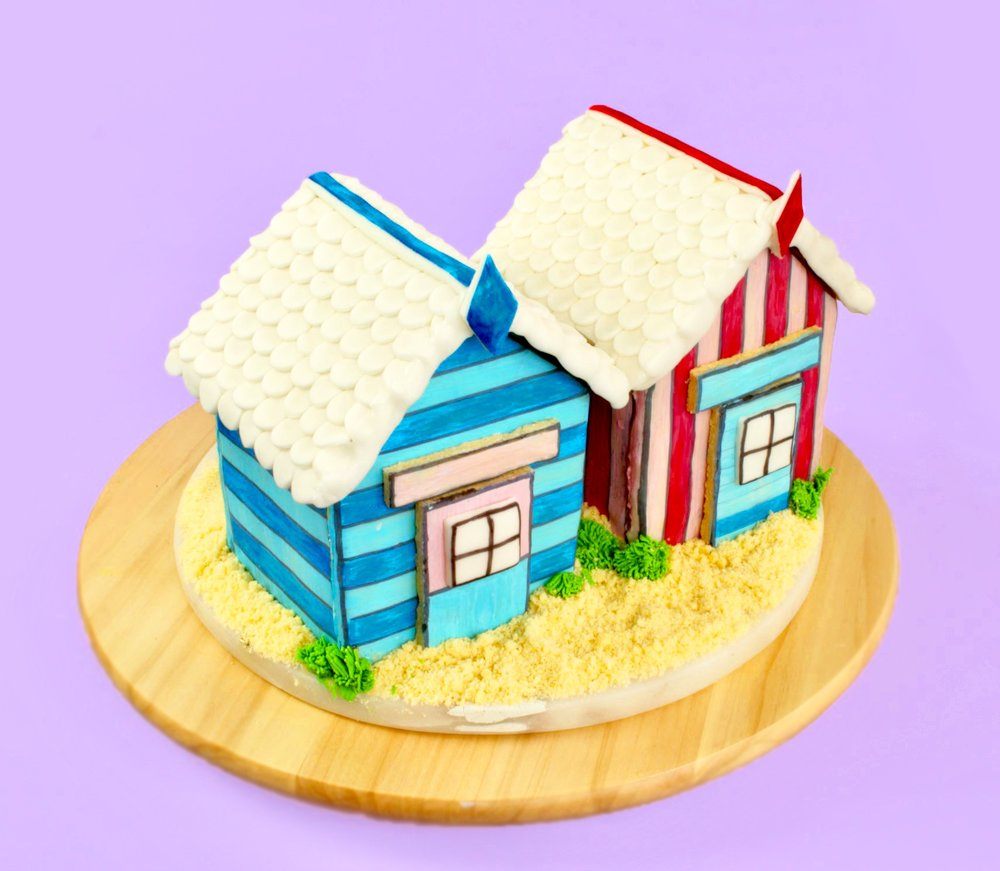 Super Cute Beach Hut Cookie House