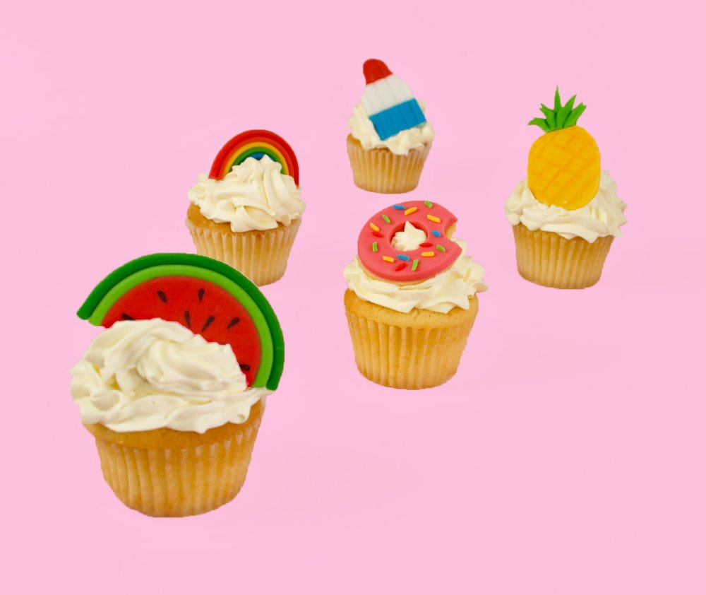 DIY Summer Fun Cupcake Toppers