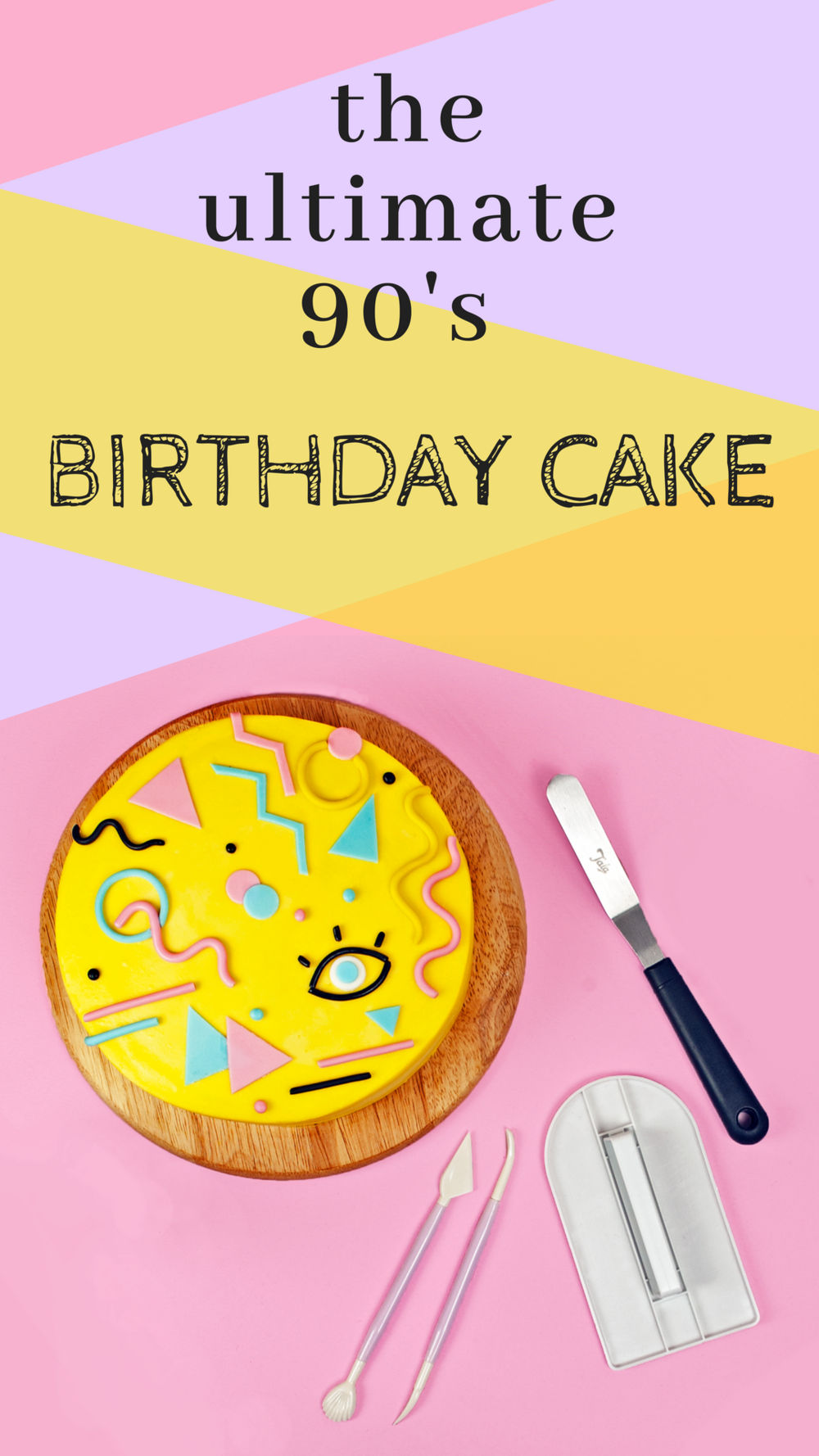 the ultimate 90's birthday cake DIY, very beginner friendly.png
