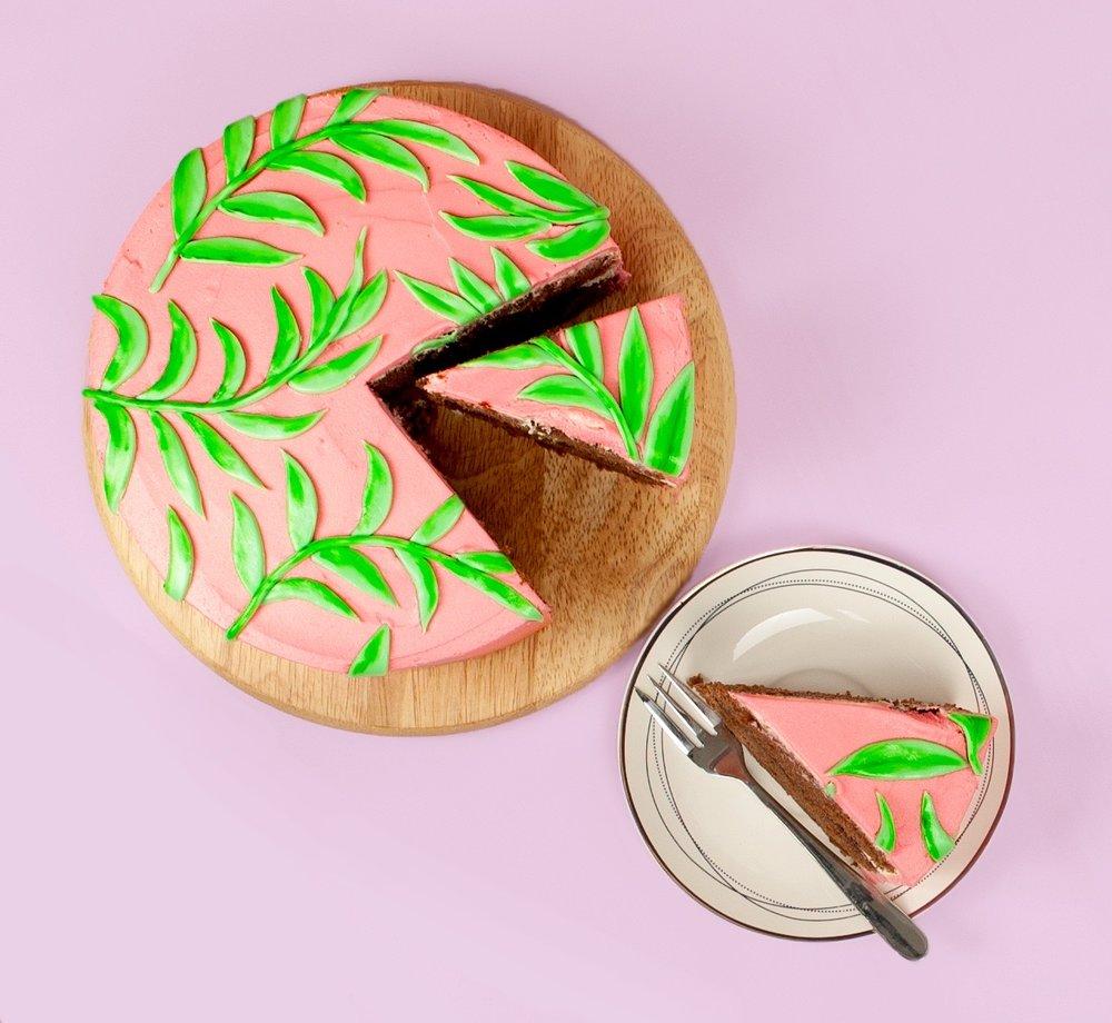 slice.JPGBang on Trend Leaf Pattern Cake