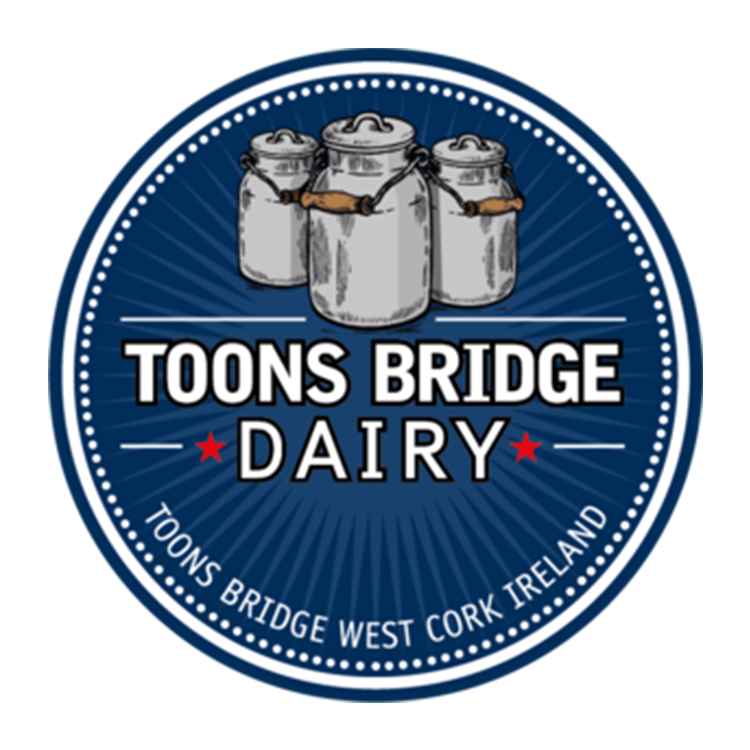 Toons Bridge Dairy   A family run dairy based in West Cork.Makers of delicious authentic cheeses in small batches, using local raw cow, sheep and buffalo milk.    Website