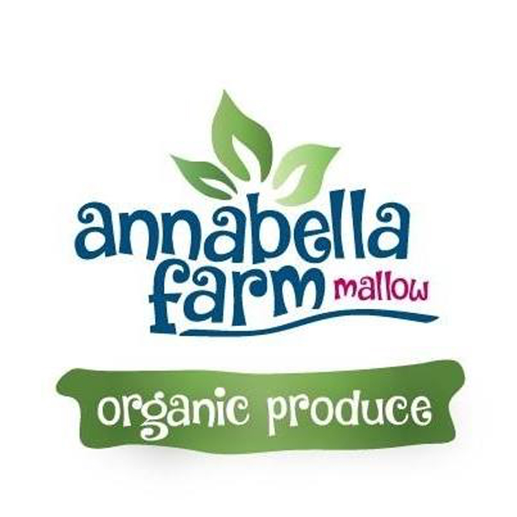Annabelle Farm   A family business which grows organic Mixed Salad, Rocket, Spinach and Kale.They supply their fresh produce to supermarkets and restaurants in the Mallow/North Cork area.   Facebook