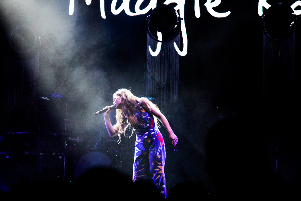 Maggie Rogers at the All Things Go Fall Classic 2018