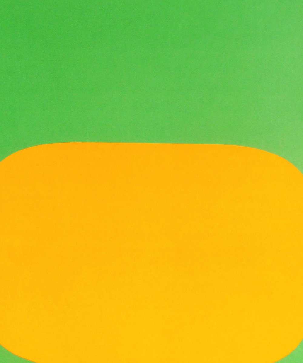 Ellsworth Kelly Derriere le Miroir