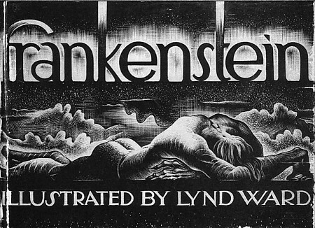 In 1934 an edition of Frankenstein was published with wood engravings by Lynd Ward. read more in our stories! #art #halloween #frankenstein #lyndward #artoftheday #printmaking #print #prints