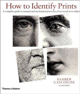 1. Bamber Gascoigne How to Identify Prints - There are many types of prints, and this book breaks down the different media so you know whether you have a woodcut, lithograph or mezzotint. It's an incredibly useful resource so you can start looking very closely at prints your collection.