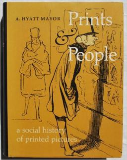 4. A. Hyatt Mayer, Prints and People - The last of the more general resources on this list, this book differs from the others as it is organized by name so you can easily search it by artist's name or type of printing process. It is a wonderful resource to have.