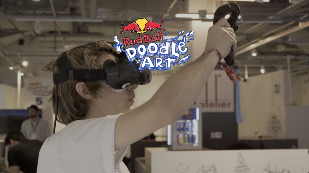A worldwide art competition in which university students from across the globe submitted doodles and turned them into a never-been-done virtual piece of art.