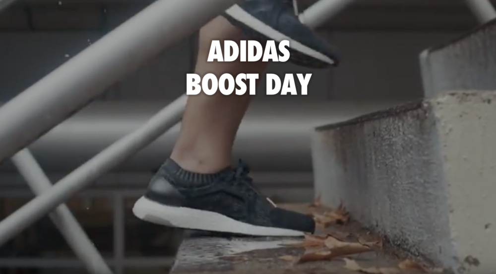 Encourage UGC content to promote National Boost Day.