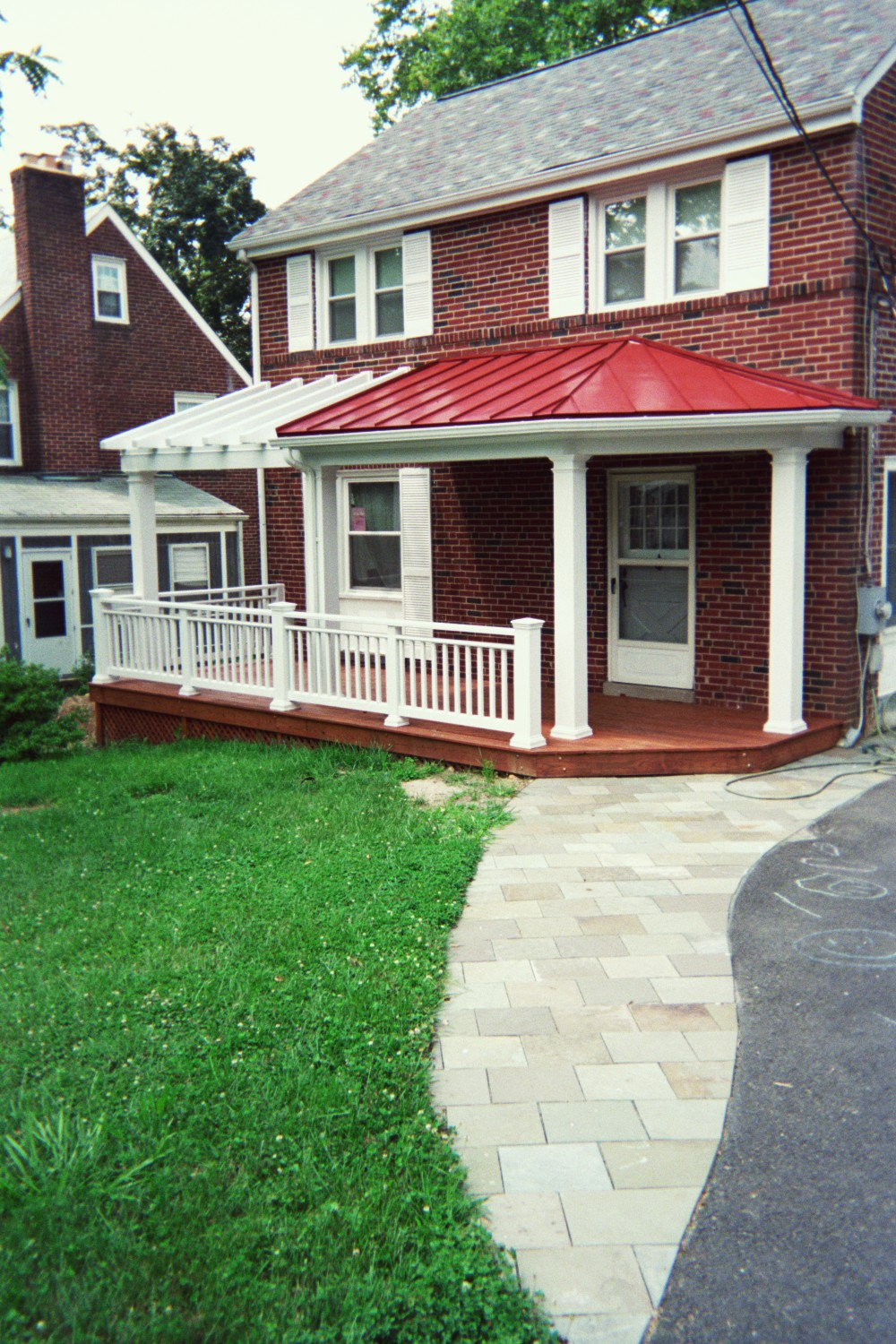 Front Porch & Walkway - ARLINGTON VA