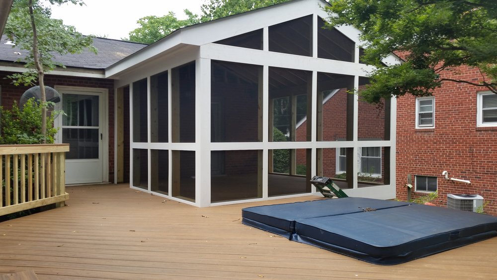 Deck & Screened Porch Addition - ALEXANDRIA VA