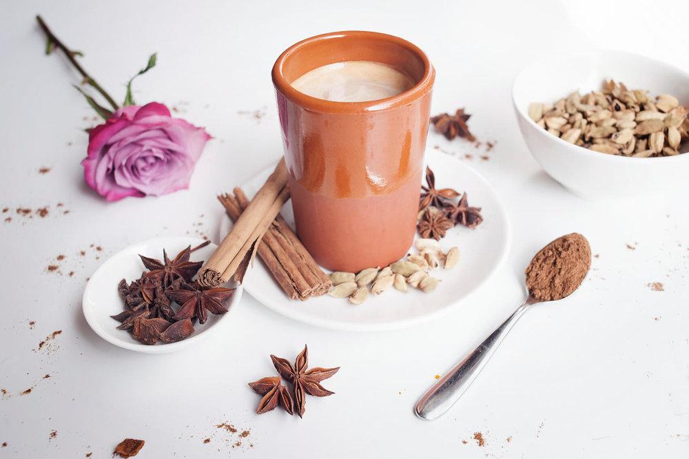 ABOUT TIME  - London's best masala teas