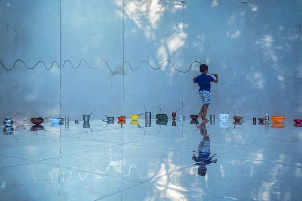 CLOVE  - Anita Dube, director of Kochi-Muziris Biennale