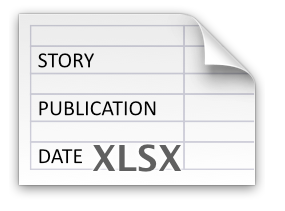 Alex Clermont Writes 3 tips to getting your short fiction published excel sheet