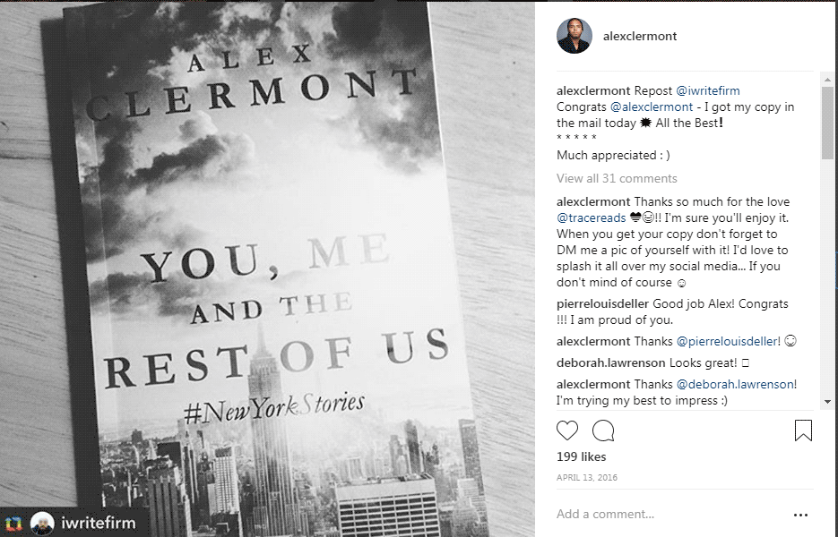 A fan of You Me and the Rest of Us: #NewYorkStories by Alex Clermont Writes