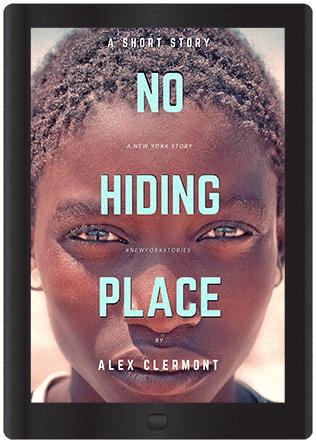 short story no hiding place black Haitian boy on ebook cover