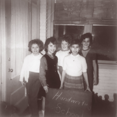 Margaret, second from left