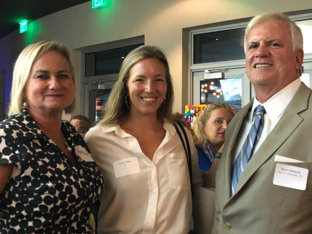Karen Balmuth, Lizzy Shane and Barry Balmuth