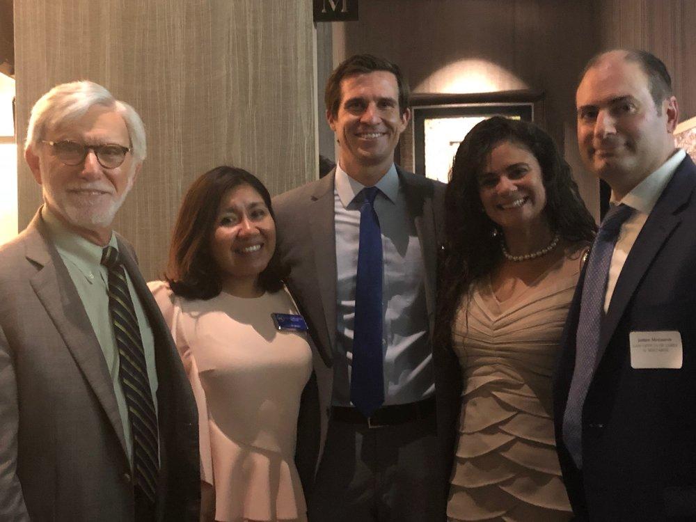 Robert Bertisch, Maya Cabrera-Lopez, Will Searcy, Gisiane Meszaros, and James Meszaros
