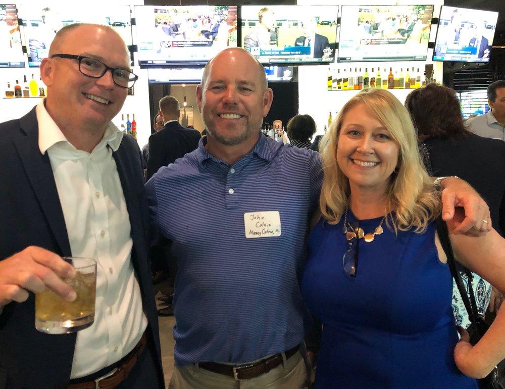 Todd Norbraten, John Colvin and DeniseKrebs