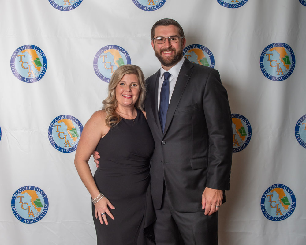 2019 President Amanda Kawecki with Todd Kawecki
