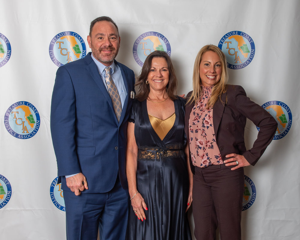 Steve Simon, Gloria Seidule and Jennifer Cantrell