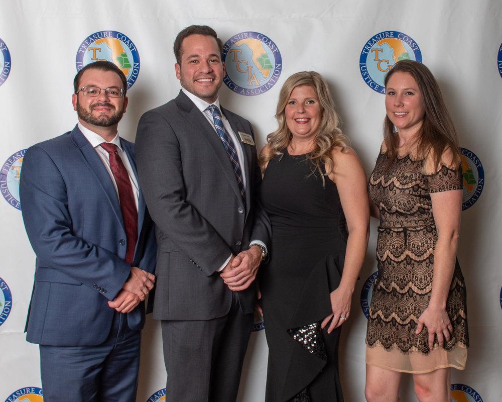 2019 Board Joshua Heller, Ryan Reif, Amanda Kawecki and Taylor Hoskins