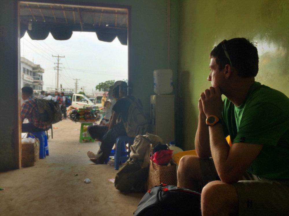 Bus Depot, Mandalay, Myanmar