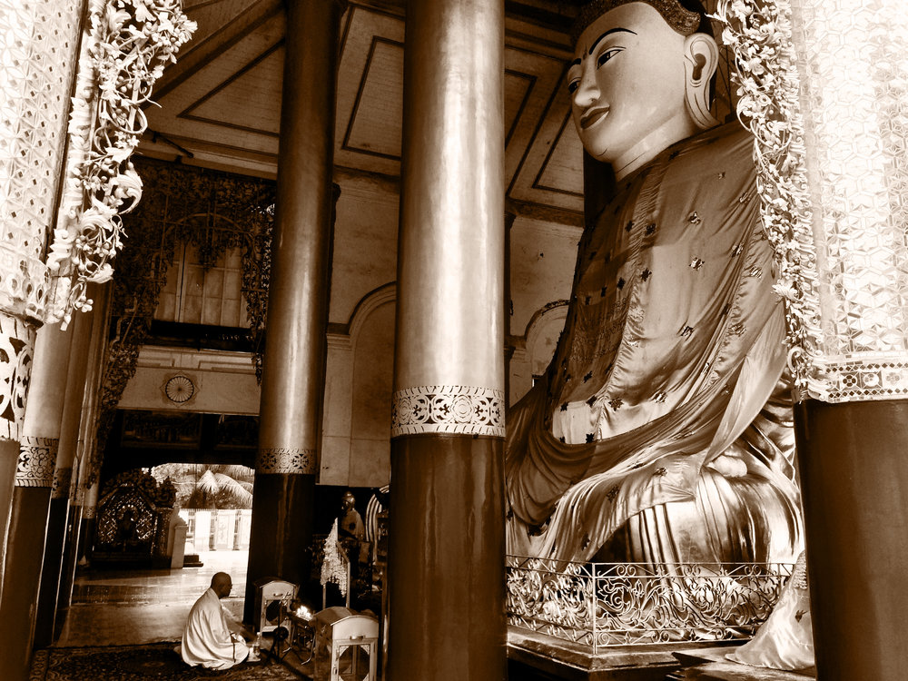 Giant Buddha, Yangon, Myanmar