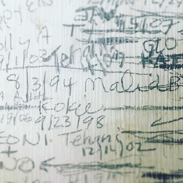 Memory lane. #kailuagirls #auntyshouse
