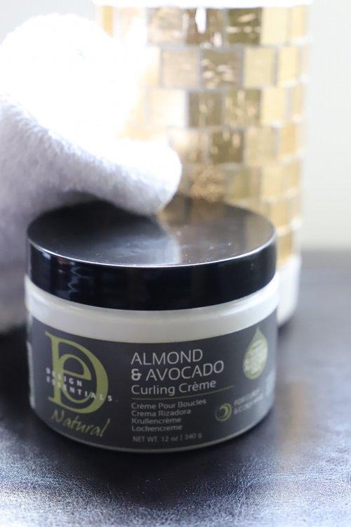 Design Essentials Almond Avocado Curling Crème Cking Desirée