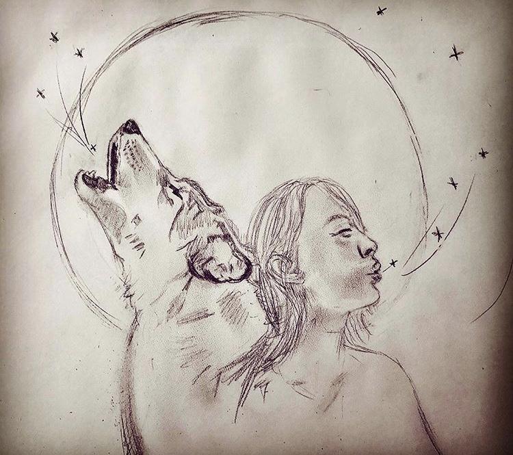 Sketch by Stevie Goggans - 300 HR Peru 2017 Kula Graduate  Instagram: @stevie-yogini